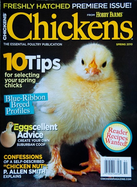cover of Chickens magazine
