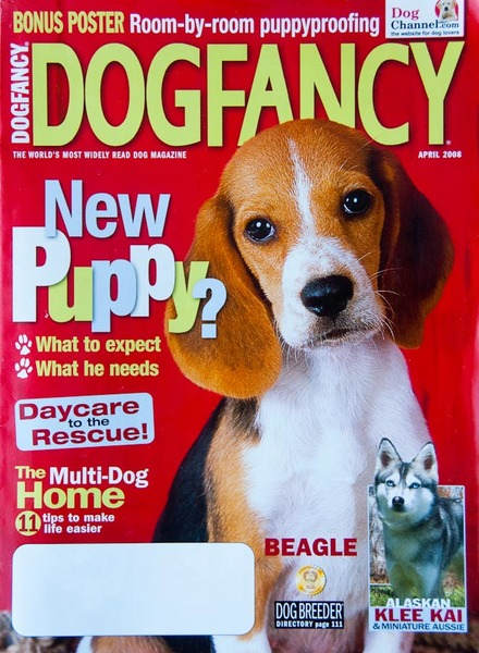 Cover of Dog Fancy magazine