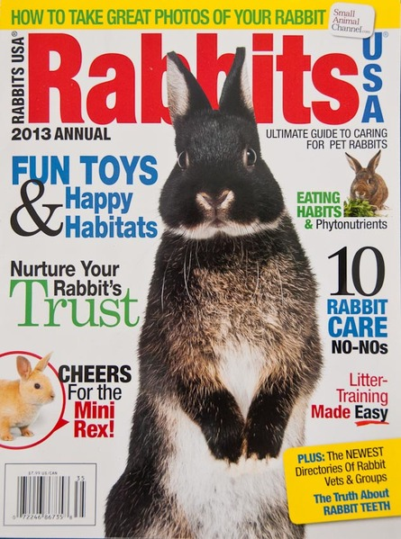 Rabbits USA 2013 Cover Photo