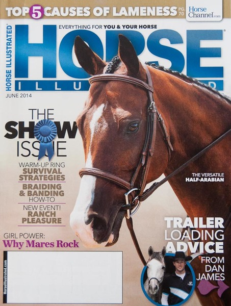 """Horse Illustrated"" June 2014, Magazine Cover Photo"